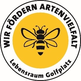 Lebensraum Golfplatz Logo